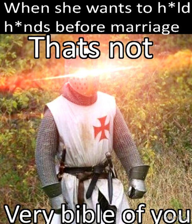 trzymanie się za ręce przed małżeństwem? Jak śmiesz
