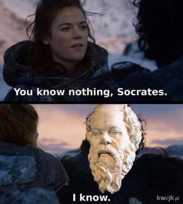 Wiem, że nic nie wiem!