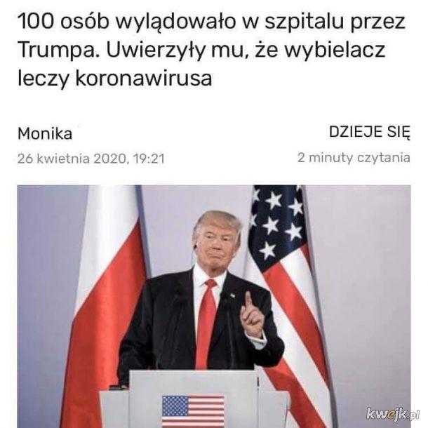 Dziękuję Pan Trump