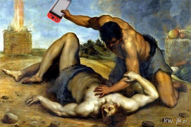 I co g*acze? kolejny dowód na to, że g*y powodują przemoc Kain zabił Abela z powodu gry