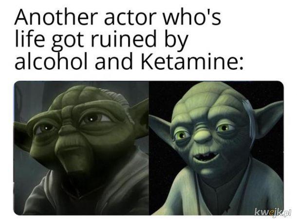 Dwóch zawsze ich jest. Nie mniej, nie więcej. Alkohol i ketamina.