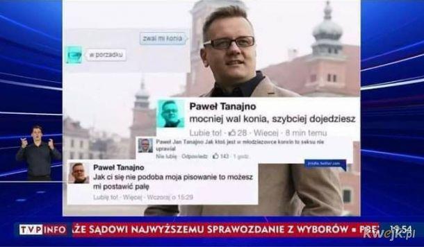 Tymczasem w telewizji publicznej