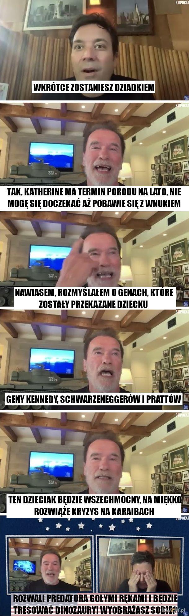 Dziadek Arnold Szwarceneger