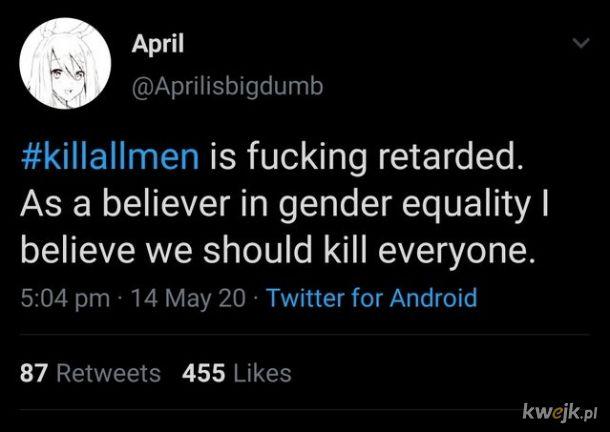 I taką równość to rozumiem!