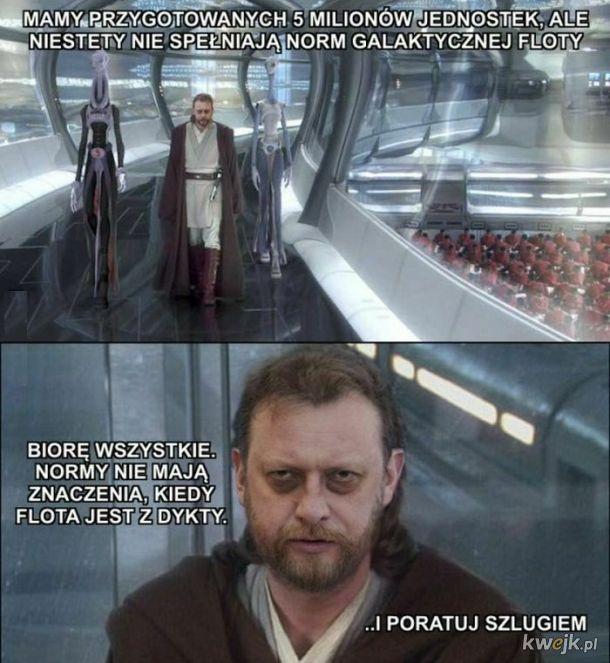 Wielki mistrz Jedi - Obi-Wan Szumowi