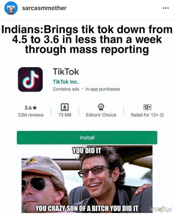 TikTok vs. Indie