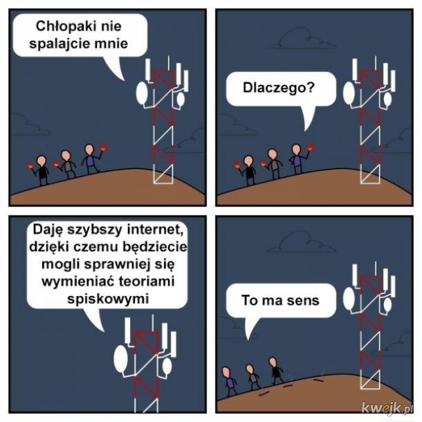 Szybszy internet