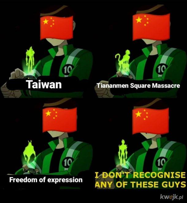 Chiny takie są