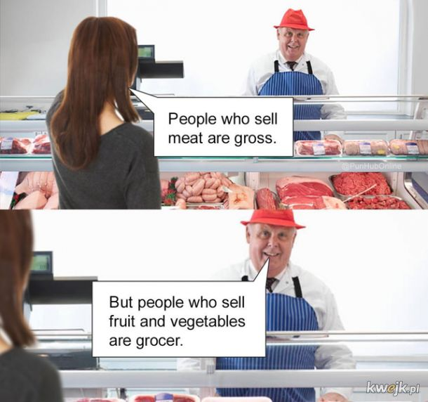 Sprzedawcy mięsa są obrzydliwi!