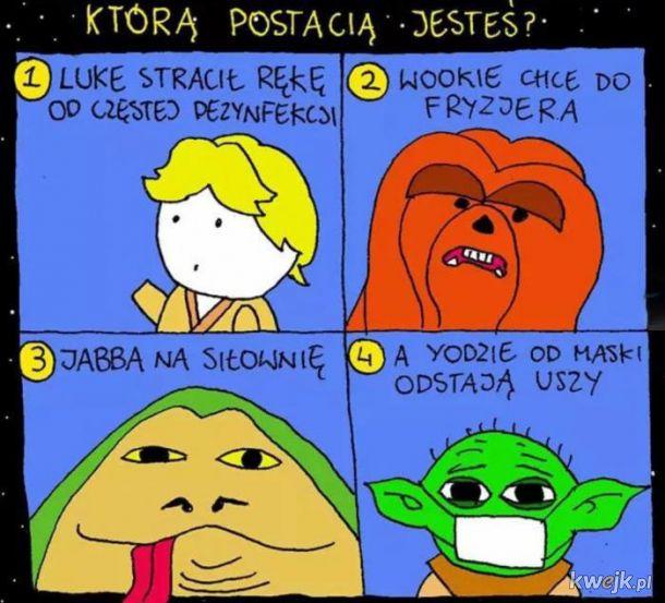 Którą postacią jesteś?