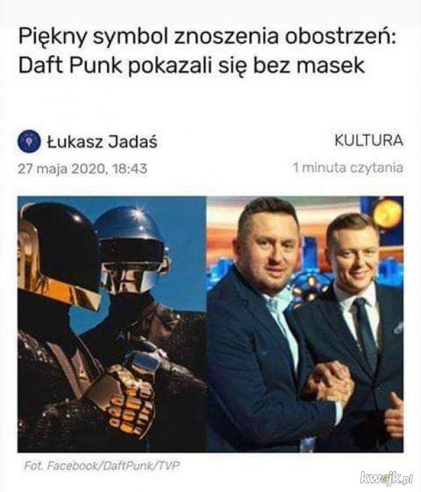 Daft Punk bez masek