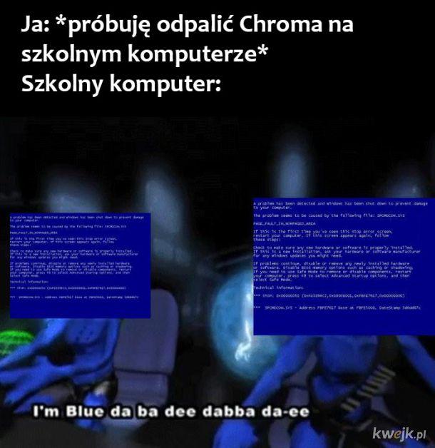 Szkolny komputer