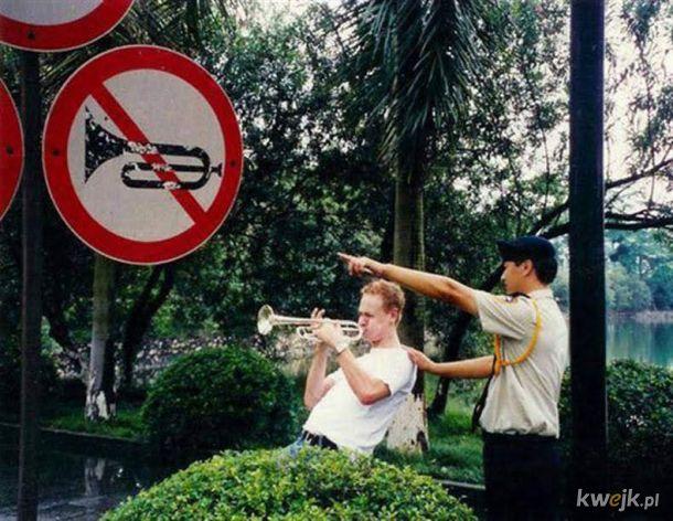 Zakaz trąbienia