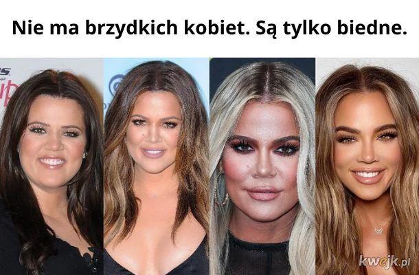 """""""Najbrzydsza Kardashianka"""" już nie jest taka brzydka"""