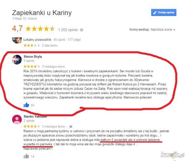 Opinie w internecie