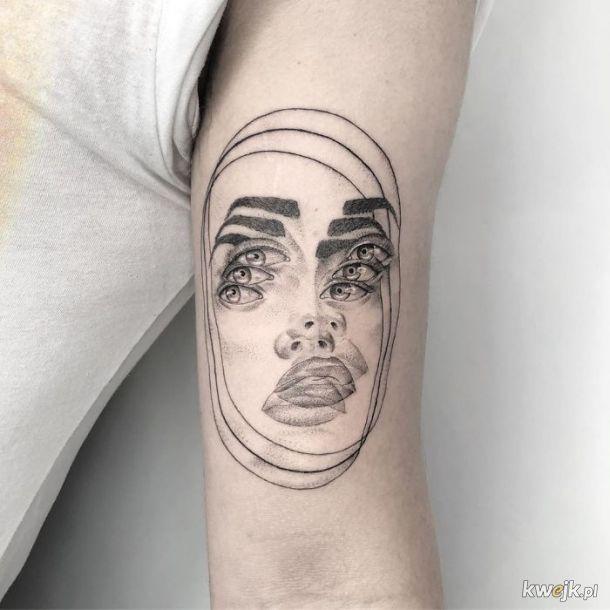 Yatzil Elizalde robi tatuaże, od kórych rozboli Cię głowa
