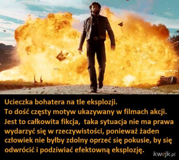 Ucieczka na tle eksplozji