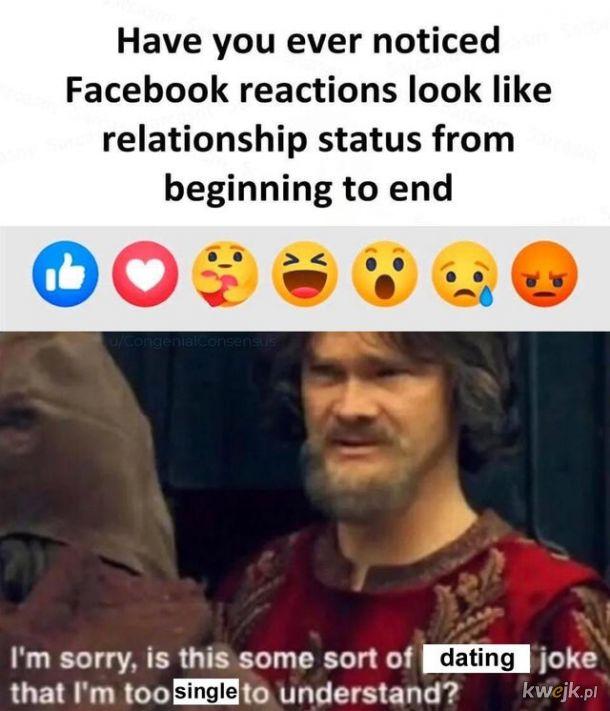 Reakcje facebookowe