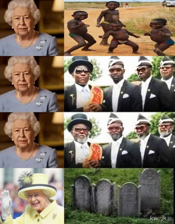 Pani Królowa Anglii
