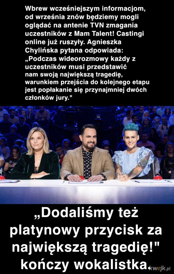 Taki Talent to ja rozumiem!