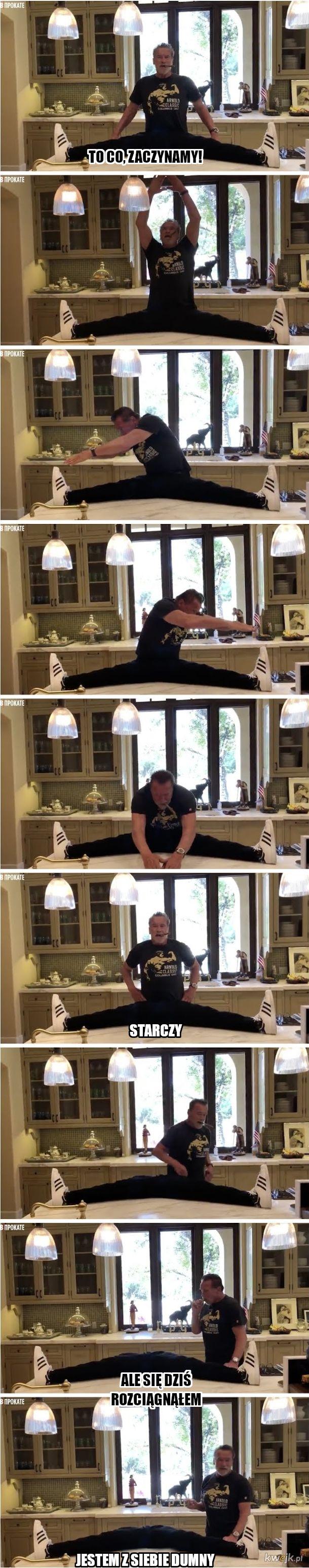 Trenuj z Arnoldem