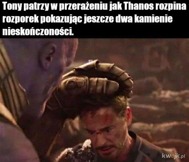 Tony nie znalazł wszystkich kamieni...