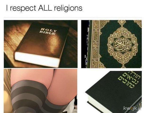 jedyna słuszna religia