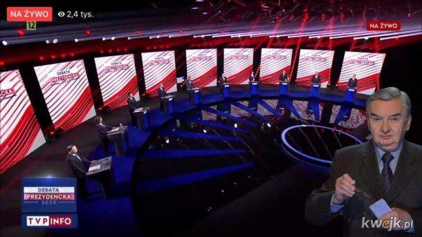 Reakcje internautów po debacie prezydenckiej 2020