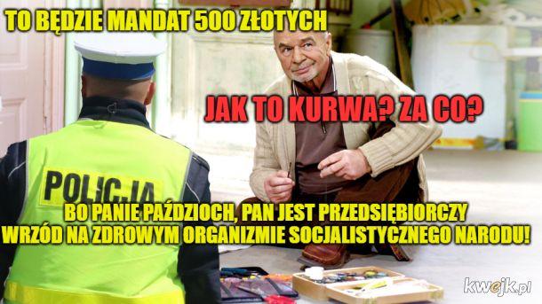 Wrzód na zdrowym organizmie socjalistycznego narodu
