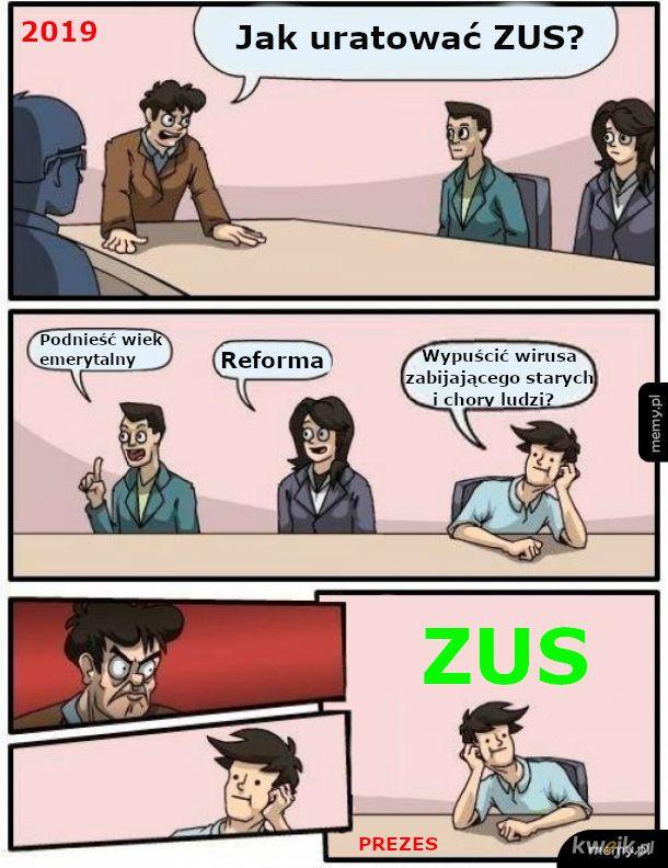 ZUS-19 vs Covid-19
