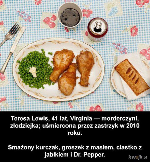 Ostatnie posiłki zbrodniarzy