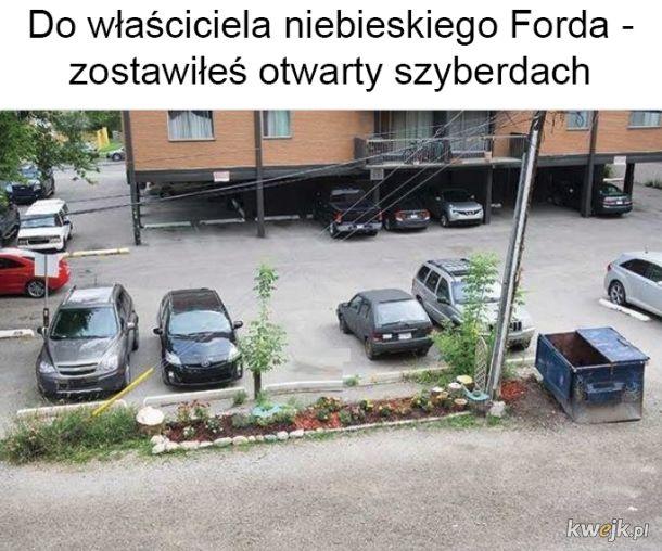 Szyberek w Fordzie
