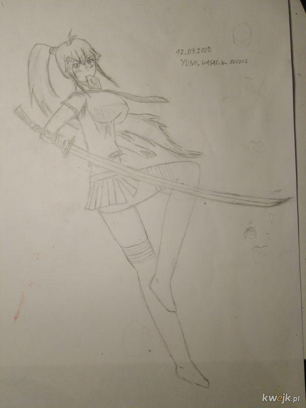 Arciki w beczce #2 Mój prawie pierwszy rysunek w 3D (skan wyszedł okropny)