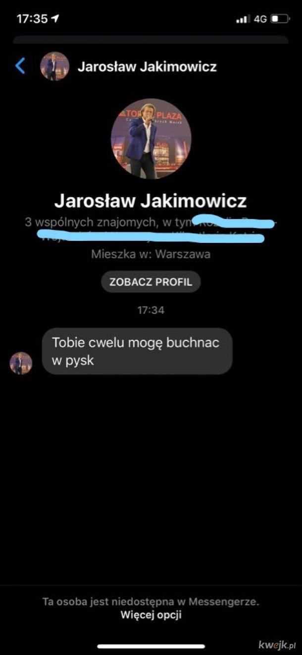 Jarosław Jakimowicz w natarciu