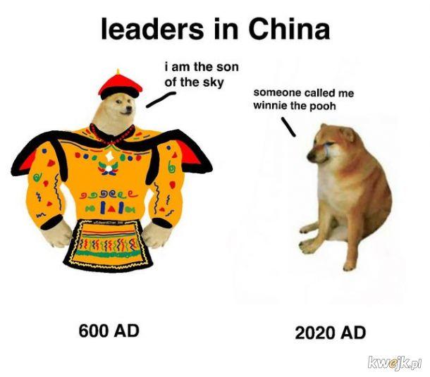 Przywódcy w Chinach