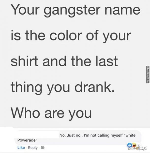 Jestem purple beer!
