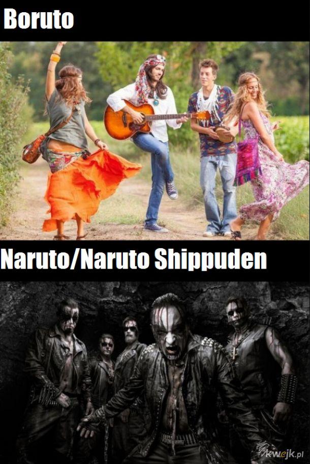 Taka różnica między Boruto a Naruto