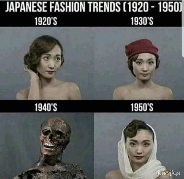 Moda w latach 40. była całkiem bombowa