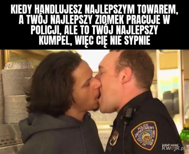 Najlepszy kumpel z policji