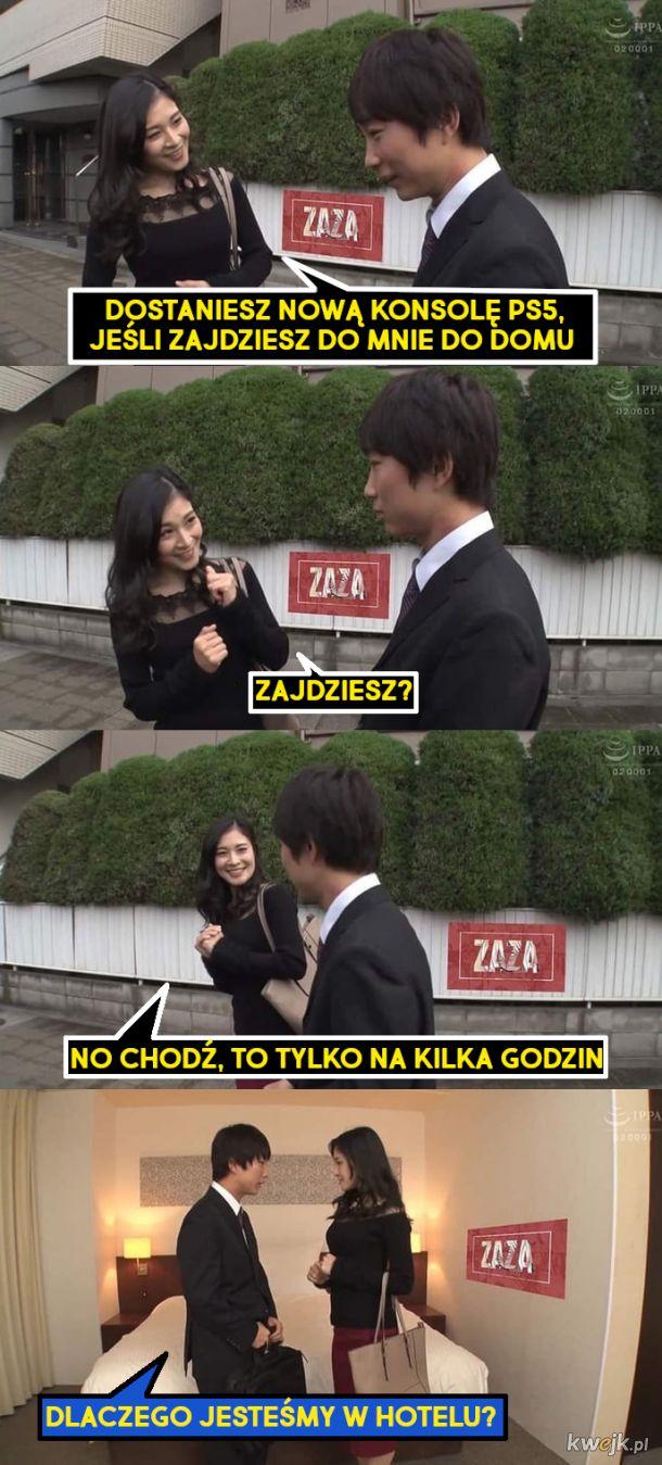 """Jak """"osaczyć""""  Japończyka"""