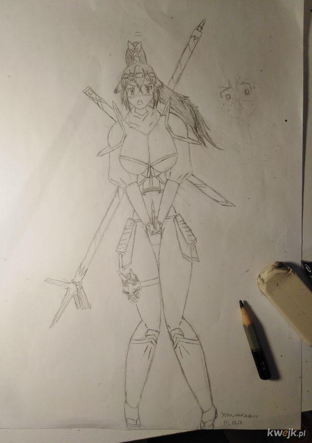 Arciki w beczce #3 Pierwsza postać do mojego ecchi-isekaja :3