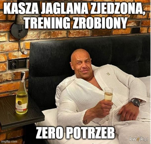 Zero potrzeb