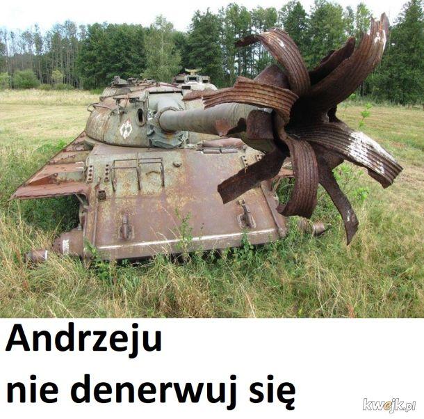 Andrzeju nie denerwuj się