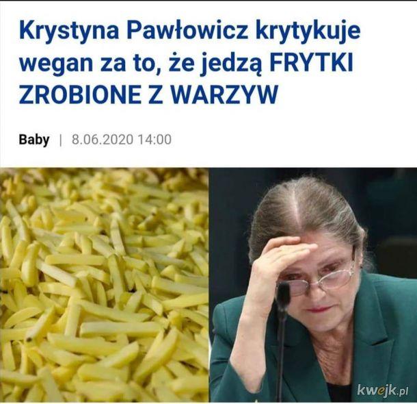 Czy ziemniak to warzywo? Odpowiedzi w komentarzach