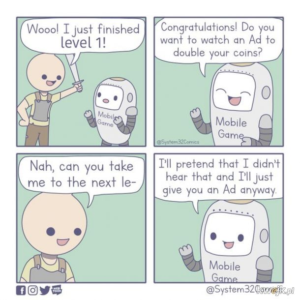Reklamy w grach mobilnych