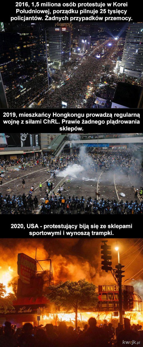 Protesty na świecie