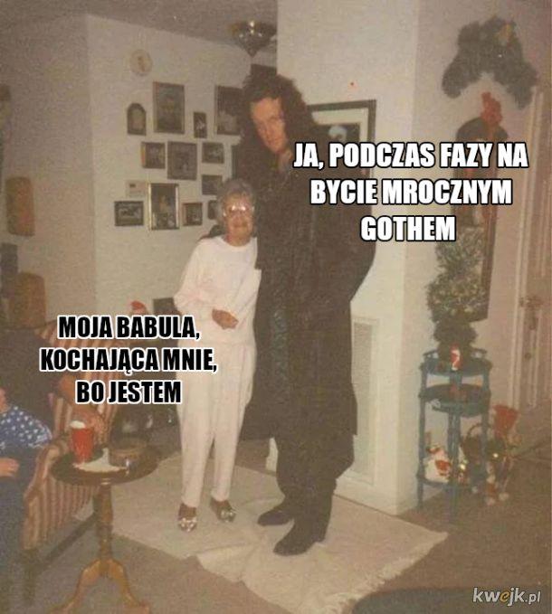 Babcia i Goth