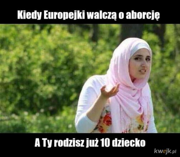Postępująca islamizacja Europy trwa