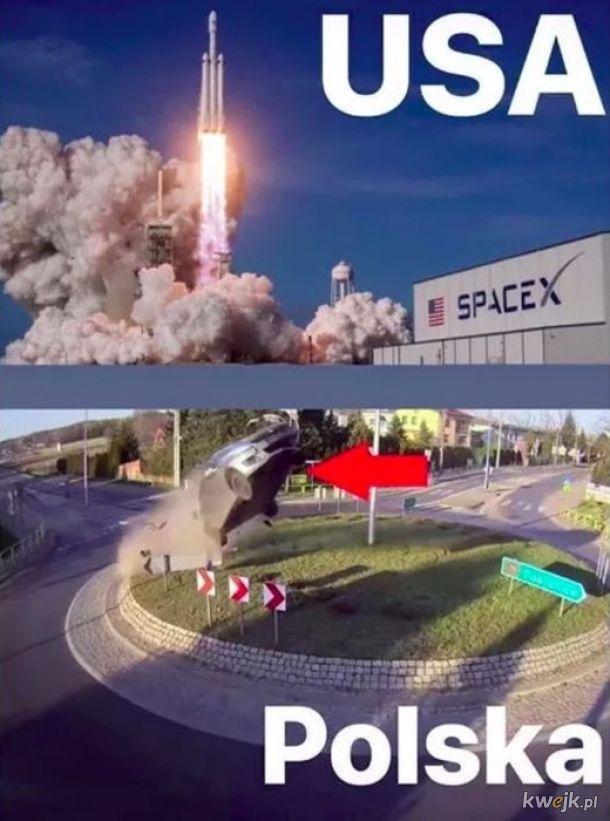 Jaki kraj takie Space X