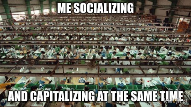 Socialize, they said, it will be fun, they said